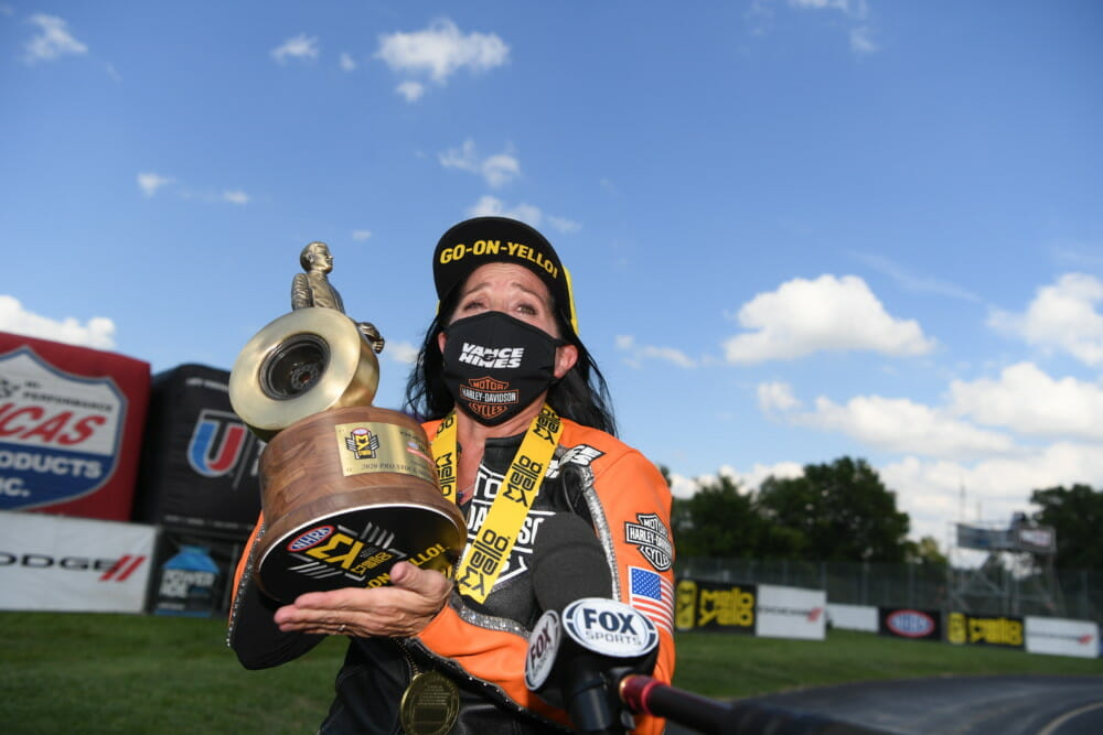 2020 NHRA Indy Nationals Results