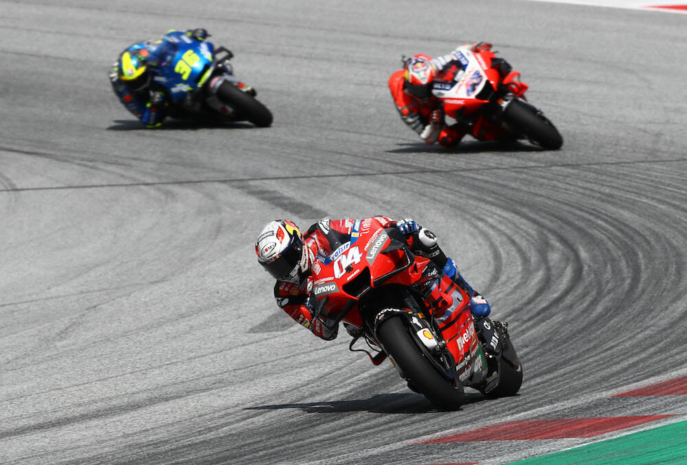 2020 Austrian MotoGP Results and News