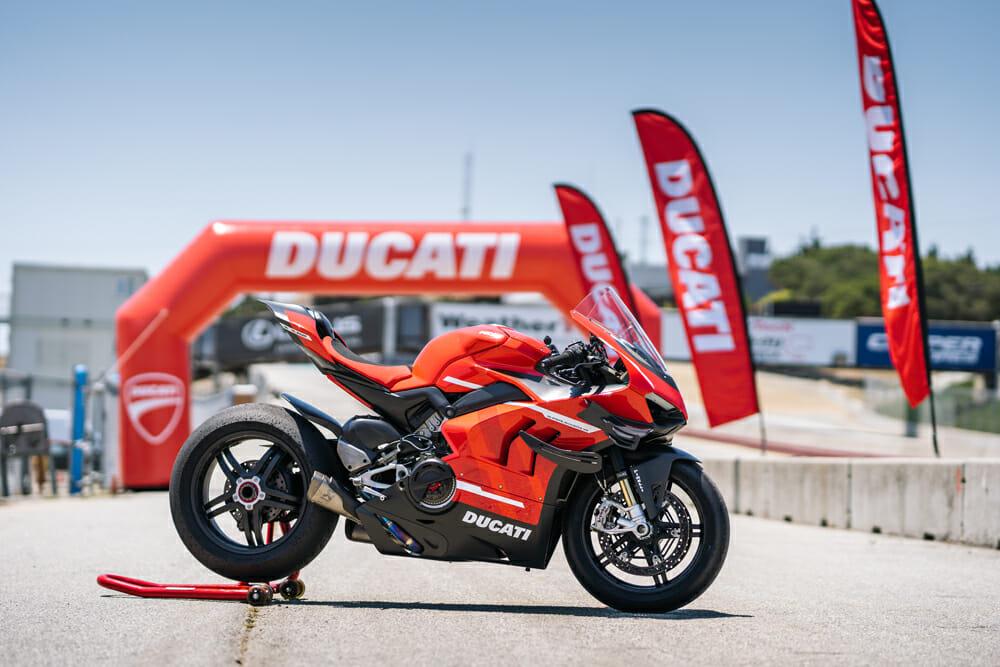 2020 Ducati Superleggera V4 at Laguna Seca