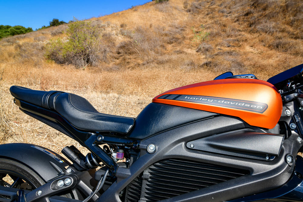 2020 Harley-Davidson LiveWire Fit and Finish