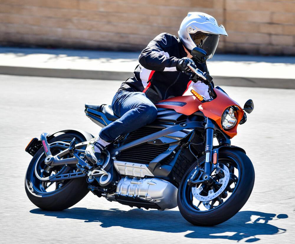 2020 Harley-Davidson LiveWire right side