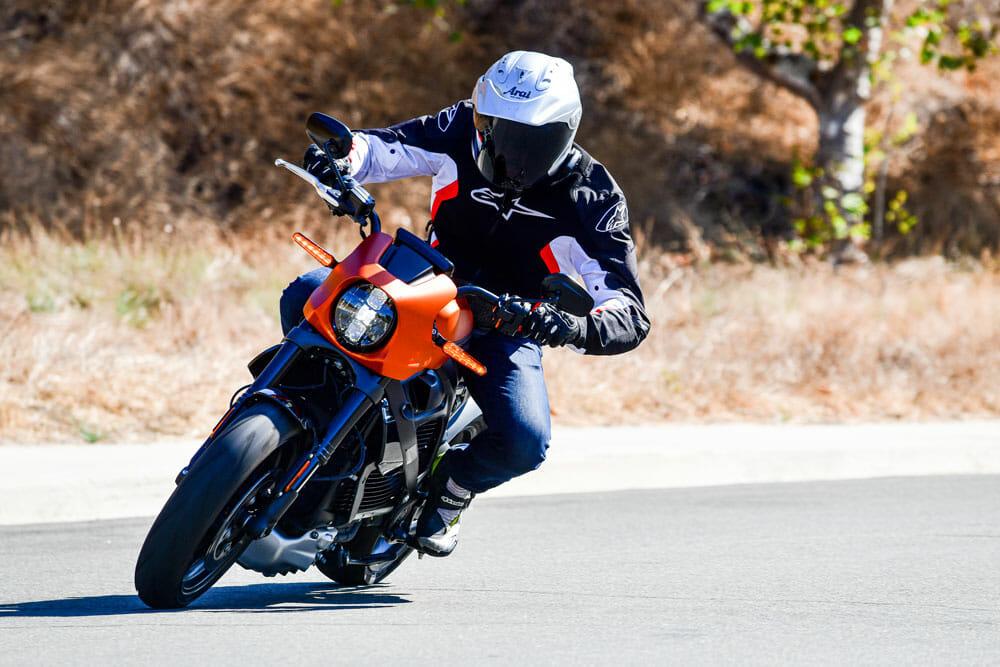 2020 Harley-Davidson LiveWire Ride Position