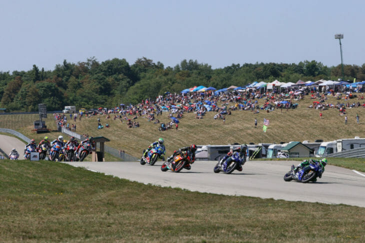 2020 Pittsburgh MotoAmerica Results Beaubier race
