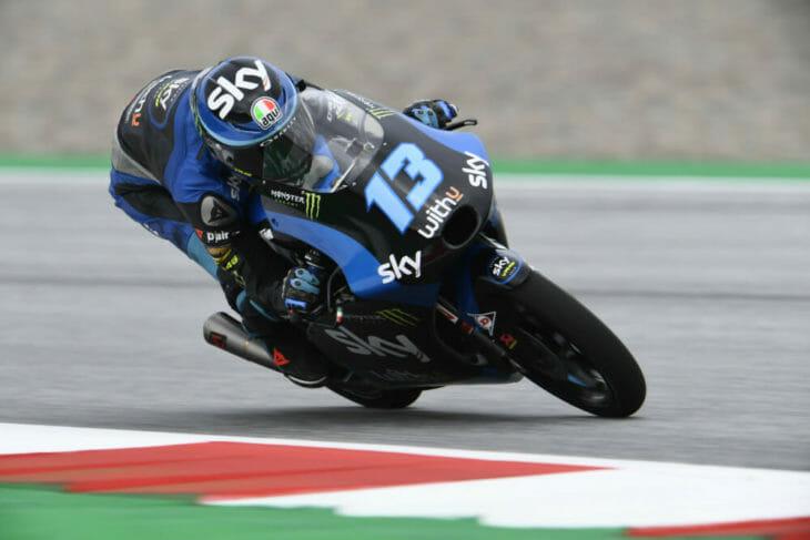 2020 Styrian MotoGP Results Vietti Friday