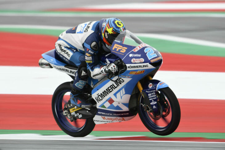 2020 Styrian MotoGP Rodrigo pole