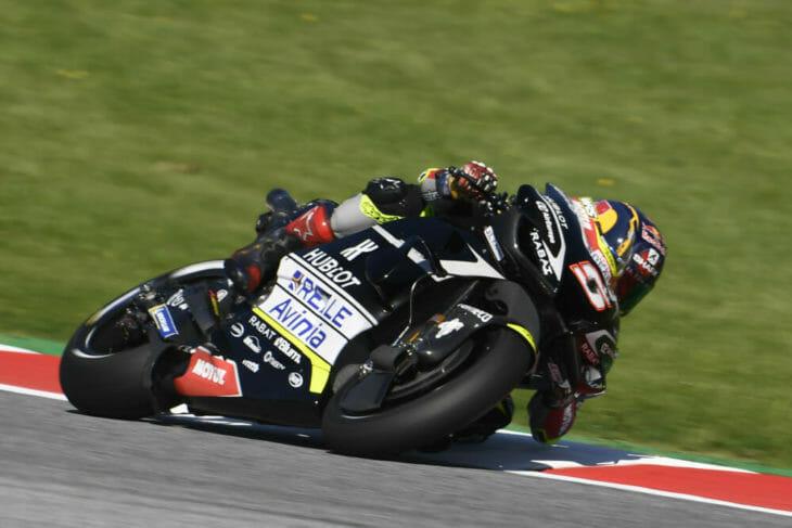 2020 Styrian MotoGP Zarco penalty