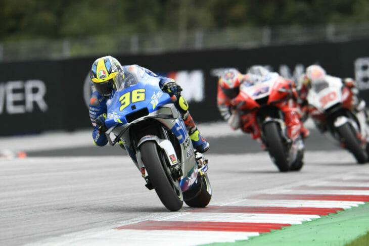 2020 Styrian MotoGP Results Joan Mir