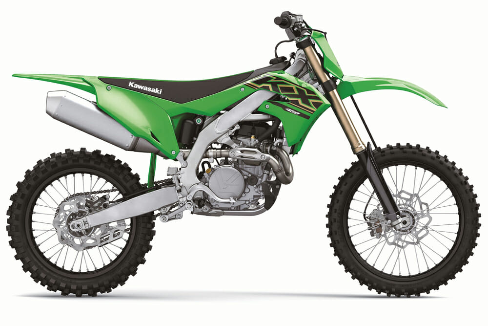 2021 Kawasaki KX450 Specifications