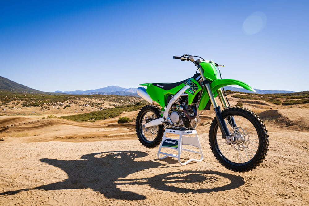 The 2021 Kawasaki KX450 sees few changes, but they're all good ones.