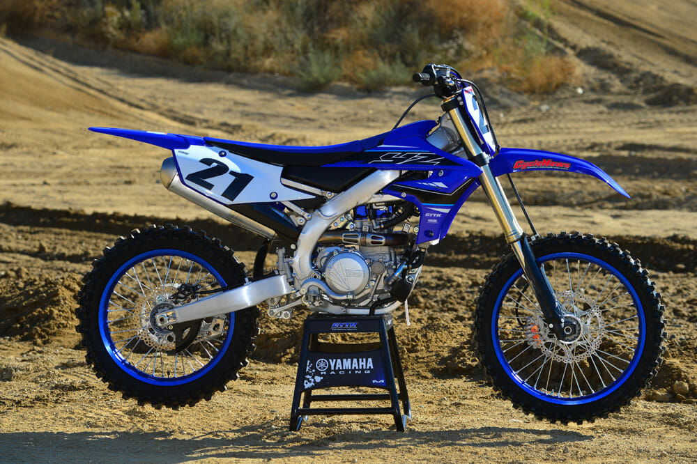 2021 Yamaha YZ450F Specifications