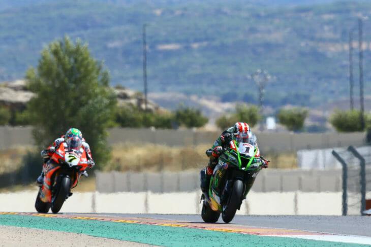 2020 Aragon WorldSBK Results Rea wins race two