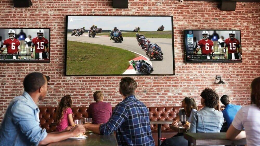 MotoAmerica content on Atmosphere TV