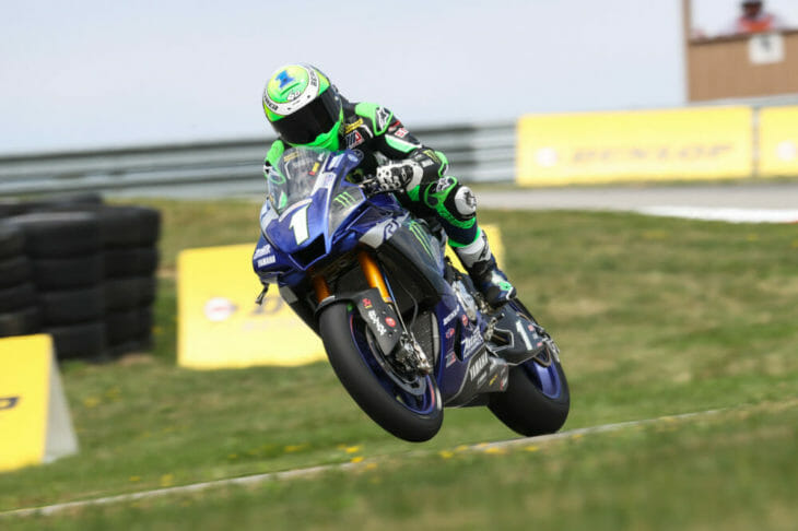 2020 Pittsburgh MotoAmerica Superbike Results Friday