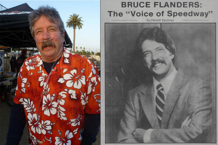 "The ""Voice of Speedway"" Bruce Flanders"