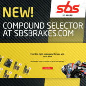 SBS Brake-Pad-Compound Selection Tool