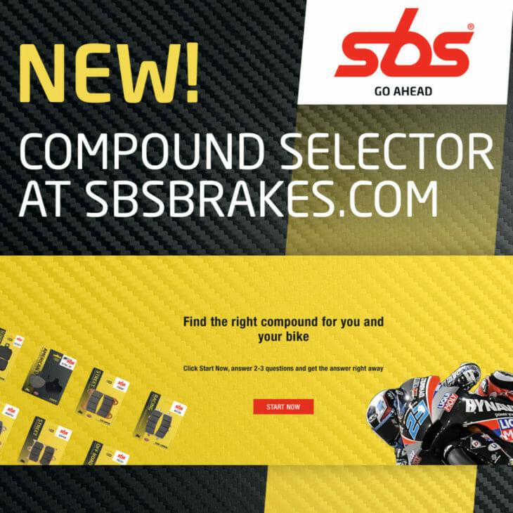 SBS Brake-Pad-Compound Selection Tool