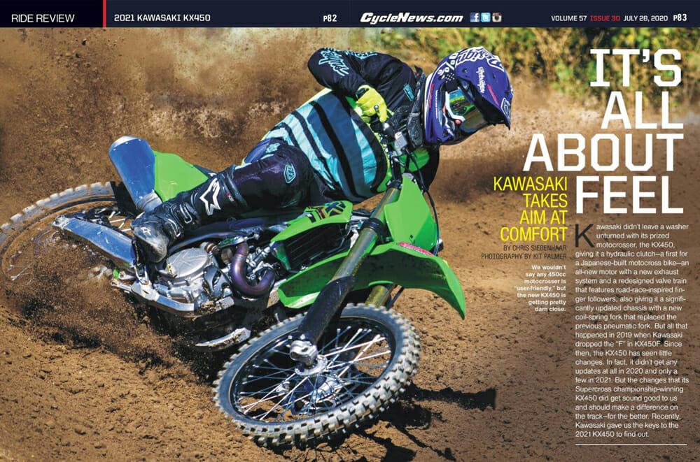 2021 Kawasaki KX450 Review