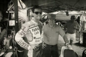 Ricky Graham (left) and his turner Johnny Goad