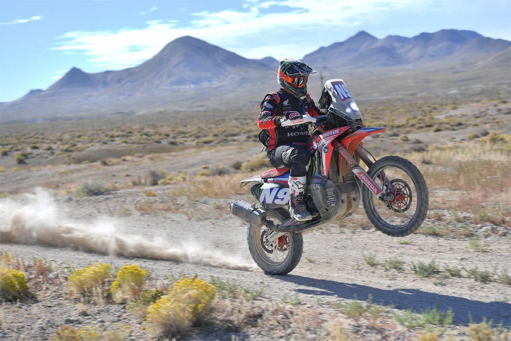 Honda rider Ricky Brabec 2020 BTID Vegas-to-Reno