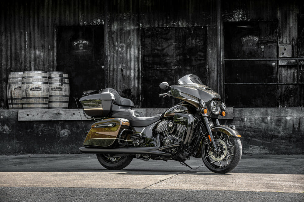 Jack Daniel's-inspired Indian Motorcycles