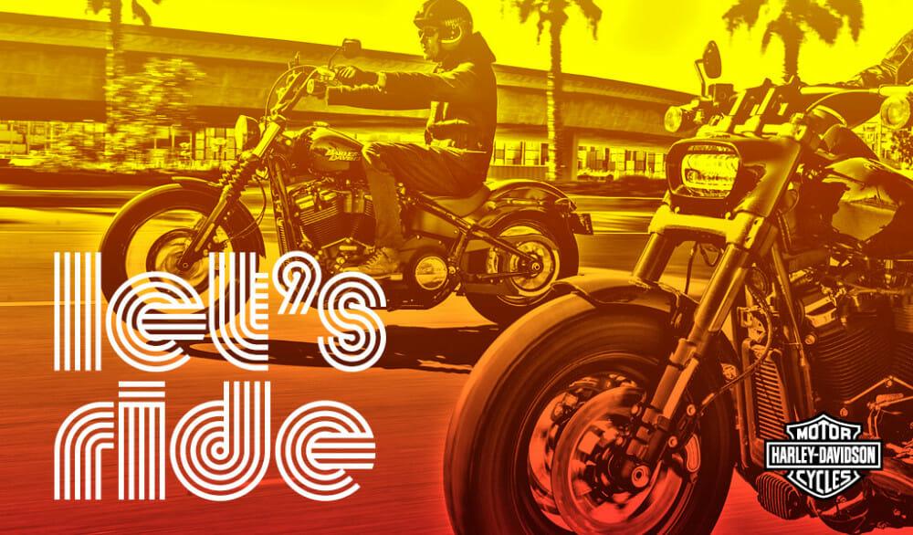 Harley-Davidson's Let's Ride Challenge