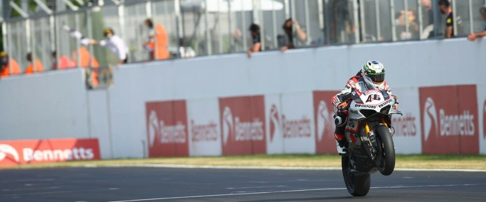 Tommy Bridewell at 2020 British Superbike at Donington Park