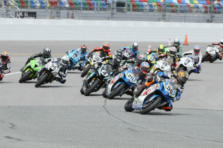 2019 Daytona 200 Race Start