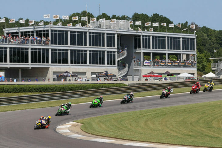 2020 Barber Motorsports Park MotoAmerica Results Sunday Stock1000 Action