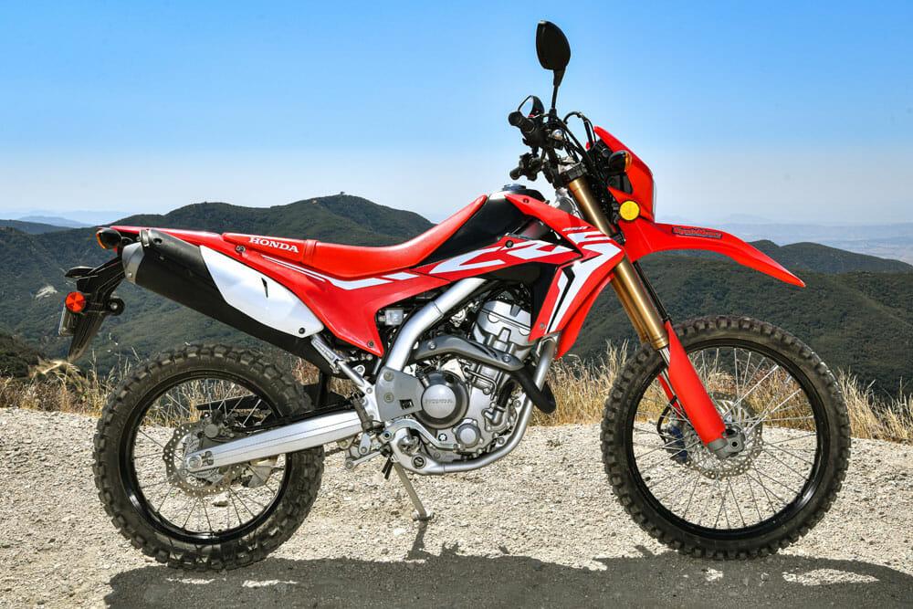 2020 2020 Honda CRF250L Specifications