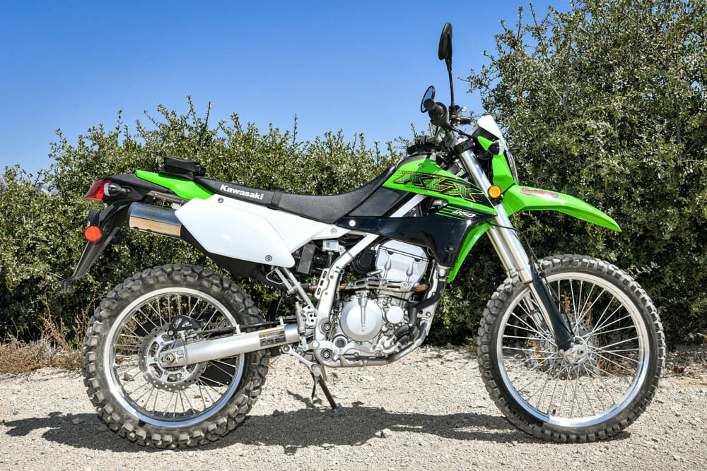 2020 Kawasaki KLX250 Specifications