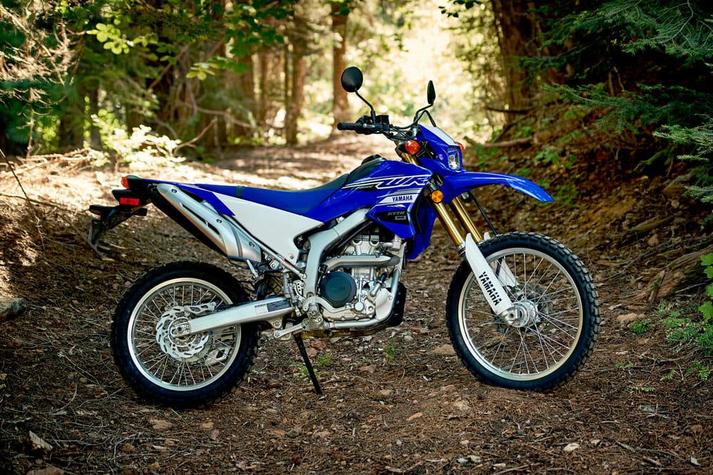 2020 Yamaha WR250F dual sport motorcycle