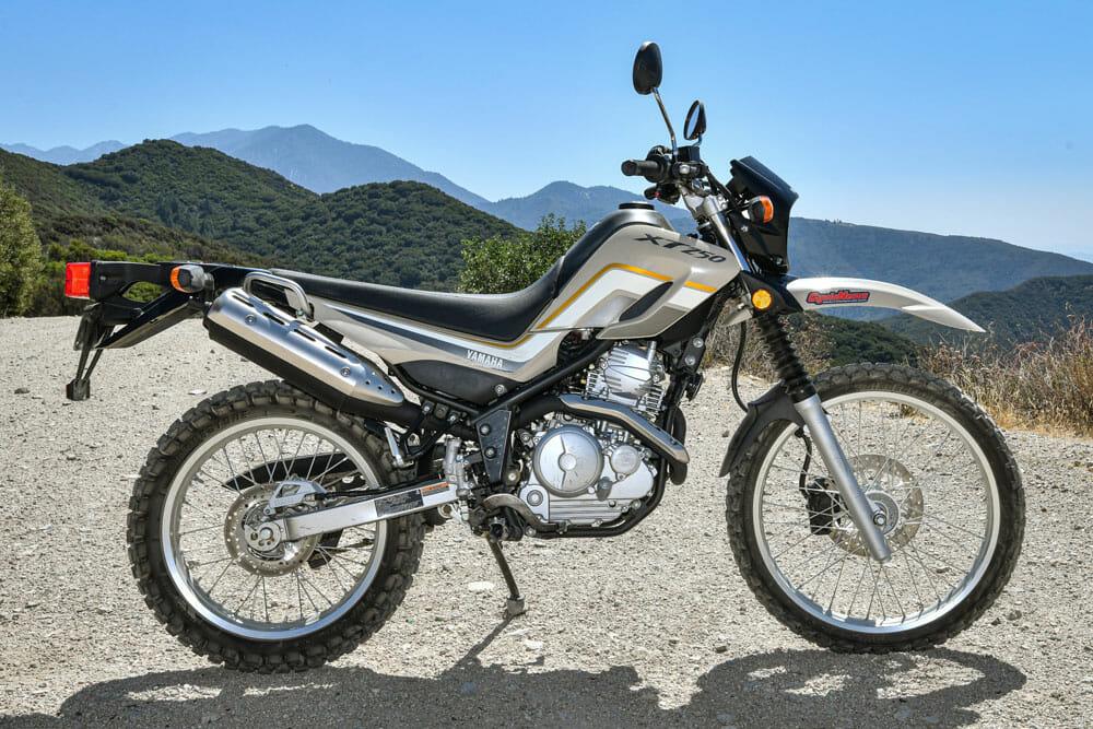 2020 Yamaha XT250 Specifications