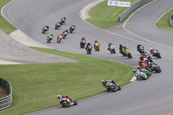 2020 Barber Motorsports Park MotoAmerica Results Petersen wins