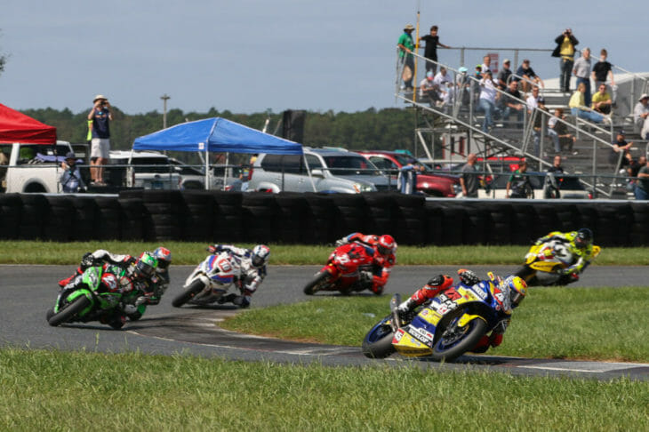2020 New Jersey MotoAmerica Results Stock 1000 Petersen