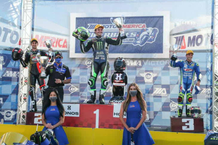 2020 New Jersey MotoAmerica Results Beaubier wins race one podium
