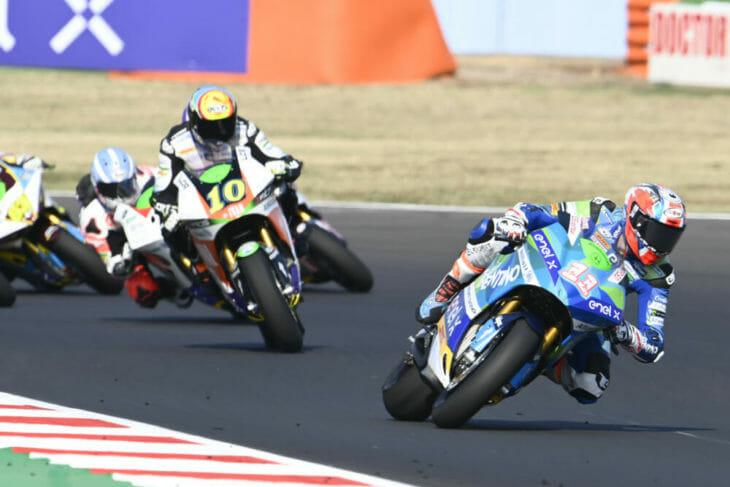 2020 San Marino MotoGP Results Ferarri wins MotoE