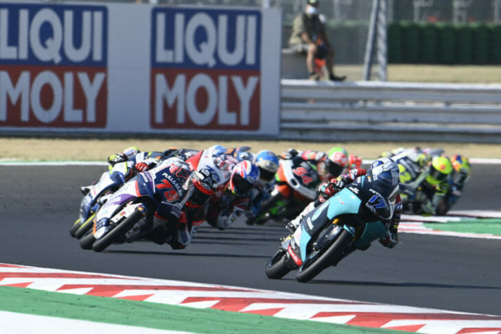 2020 San Marino MotoGP Results McPhee wins Moto3