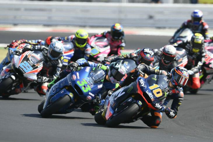 2020 San Marino MotoGP Results Marini wins Moto2
