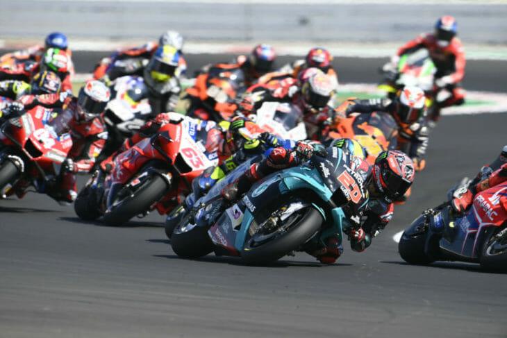 2020 San Marino MotoGP Results Quartararo