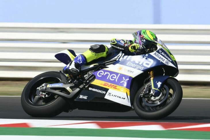 2020 San Marino MotoGP Granado tops MotoE Friday