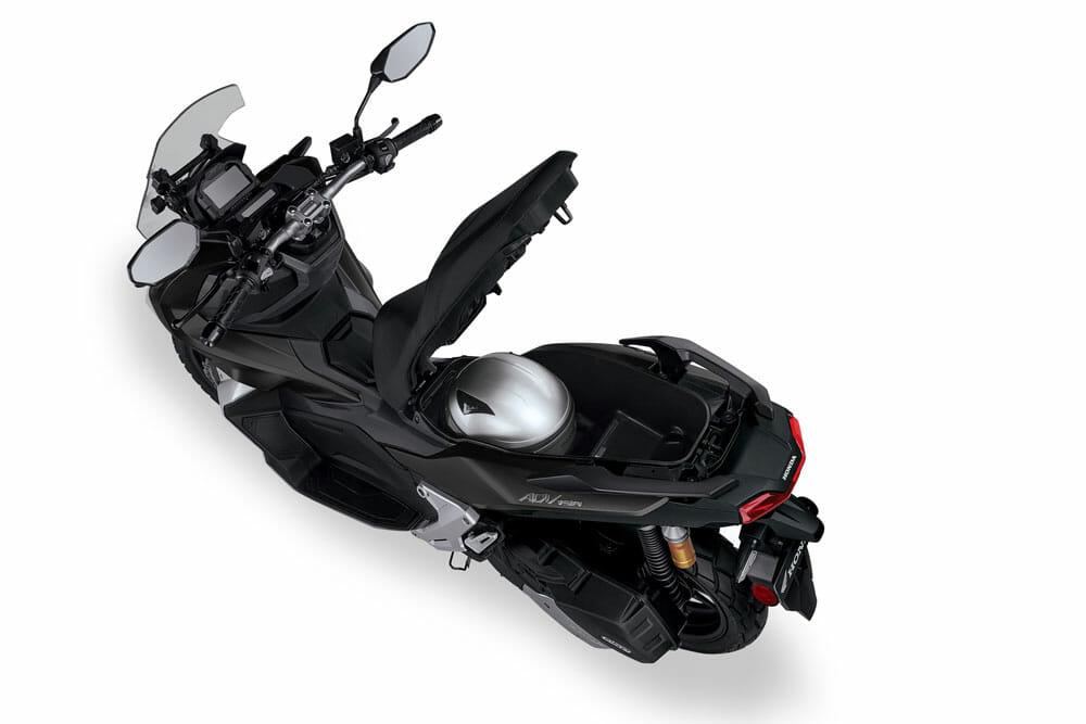 2021 Honda ADV150 underseat storage
