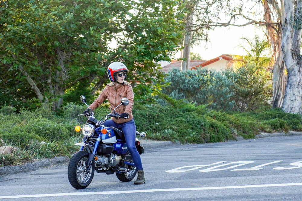 2021 Honda Monkey at a stop