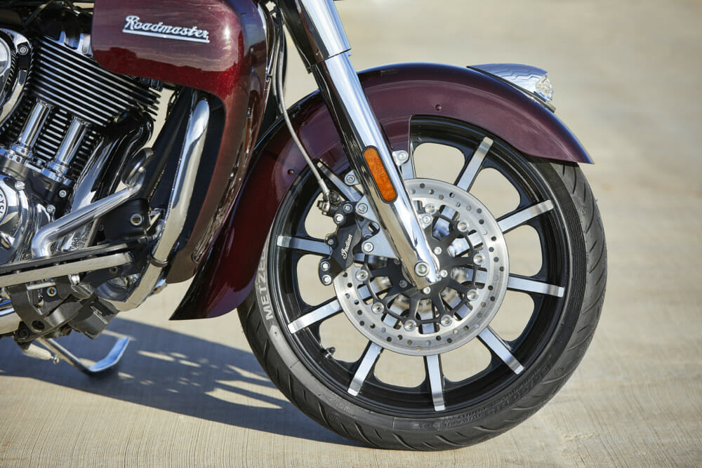 2021 Indian Roadmaster Limited front Wheel