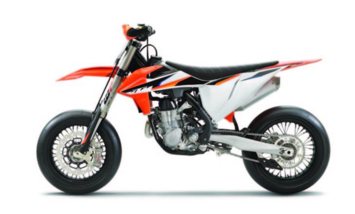 2021 KTM 450 SMR First Look left side