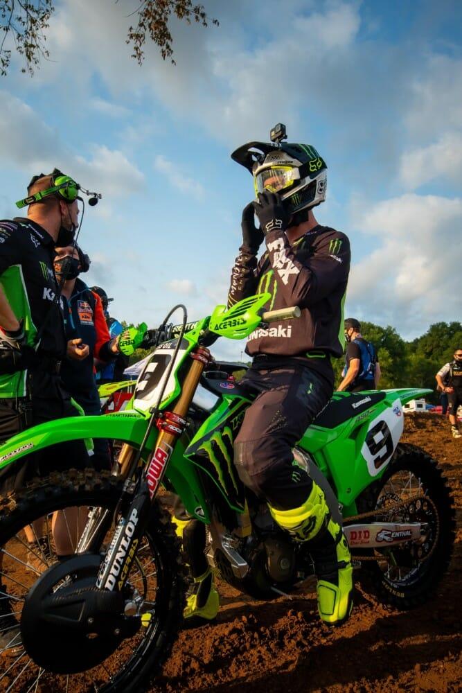 Adam Cianciarulo and Fox Racing 2021
