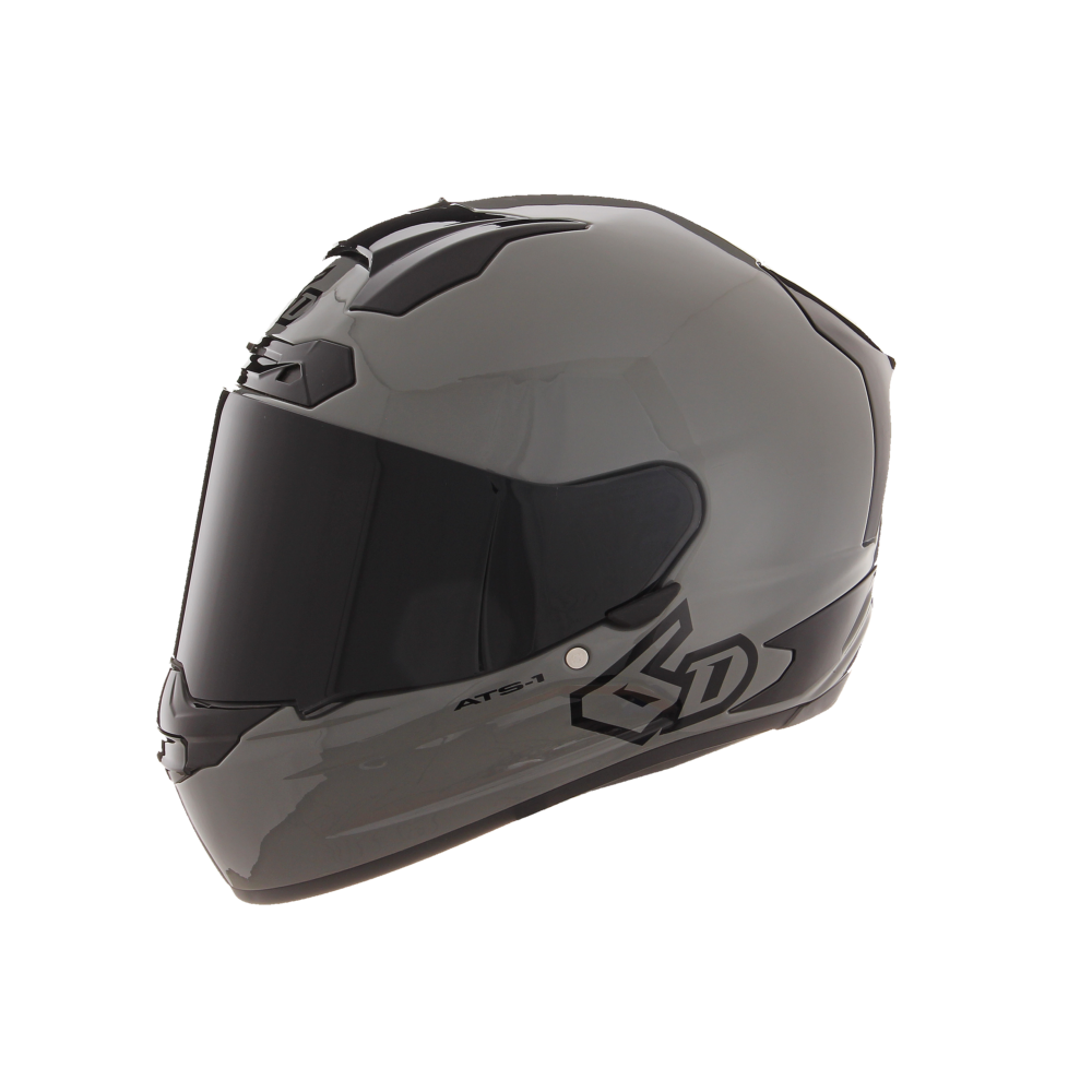 6D ATS-1R Helmet in Solid Gloss Cement Grey