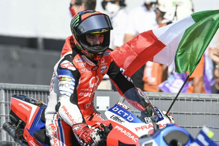 2020 San Marino MotoGP Results Bagnaia second