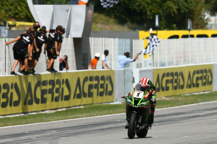 2020 Barcelona WorldSBK Results Rea wins Race One