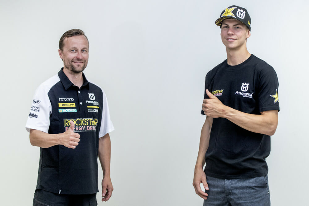 Husqvarna Motorcycles Signs Contract With Thomas Kjer Olsen