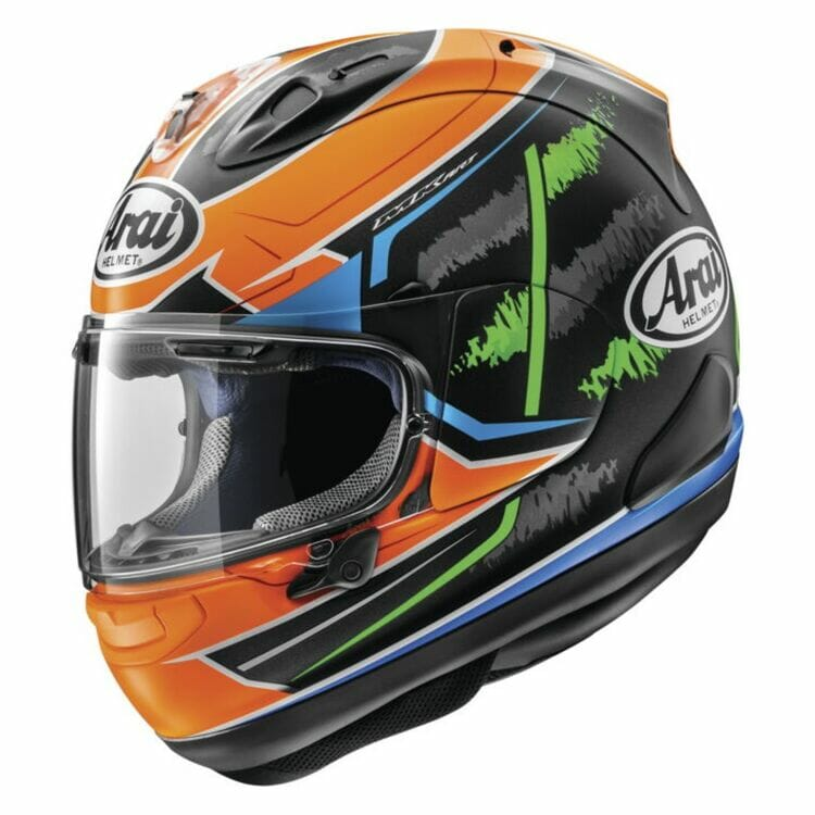 Arai Corsair-X Van Der Mark Helmet